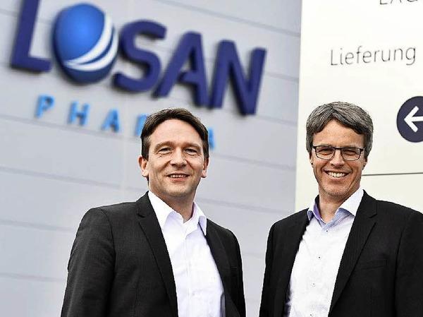 Stehen an der Losan-Spitze: Jens Morgenthaler (links) und Thomas Andresen