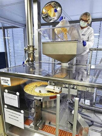 Arzneien für die Welt- Losan-Produktion in Neuenburg