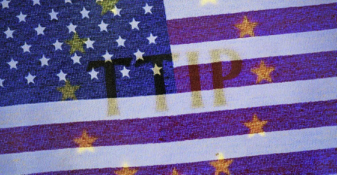 Umstritten: das Freihandelsabkommen TTIP  | Foto: DPA