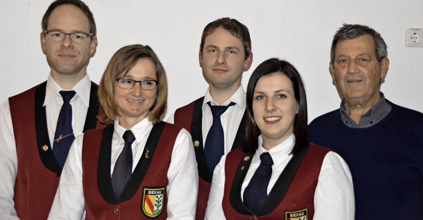 Geehrte Mitglieder des Musikvereins Se...: Tanja Bergmann und Katarina Gerber.     Foto: Helena Kiefer