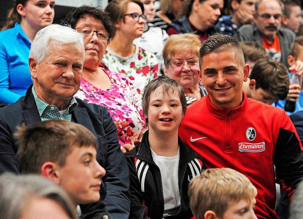Patric Klandt (rechts) im Publikum    Foto: Bettina Schaller