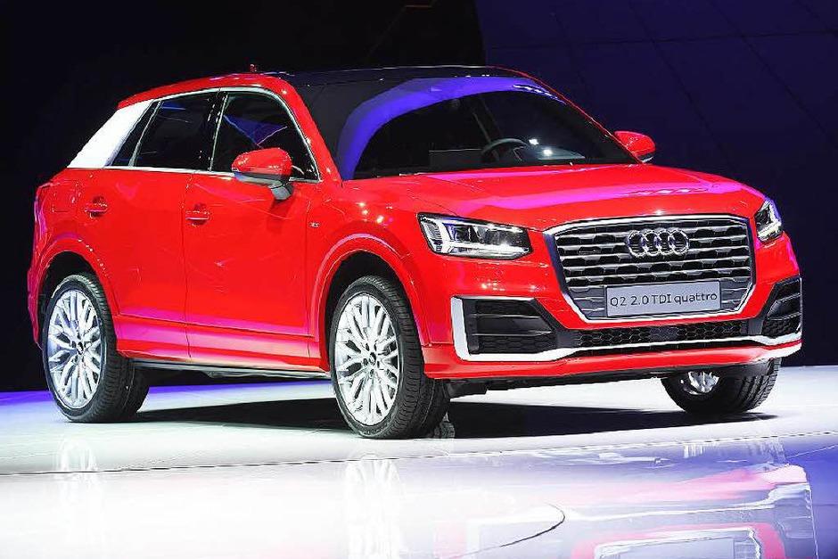 Geländewagen für den Großstadtschungel: der neue Audi Q2. (Foto: dpa)