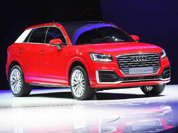 Geländewagen für den Großstadtschungel: der neue Audi Q2.