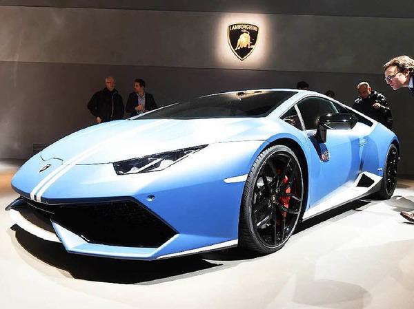 Der Lamborghini Huracan Avio ist eine spezielle Edition zum 100. Geburtstag von Firmengründer Ferrucio Lamborghini.