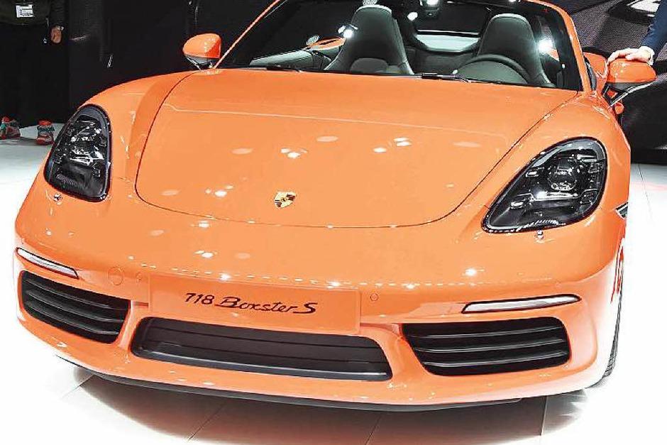 Der neue Porsche Boxster S. (Foto: dpa)