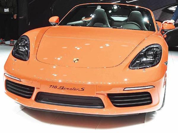 Der neue Porsche Boxster S.