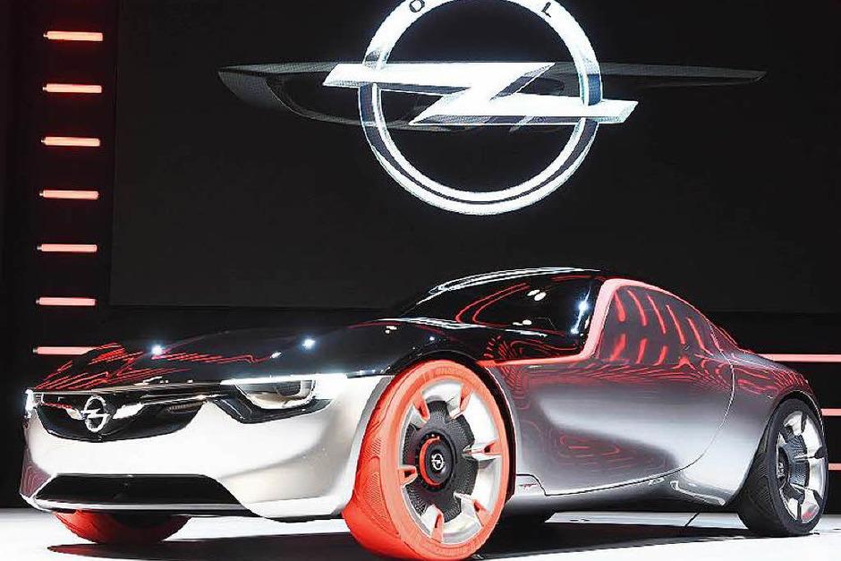 Der nächste Opel GT könnte so aussehen. (Foto: dpa)