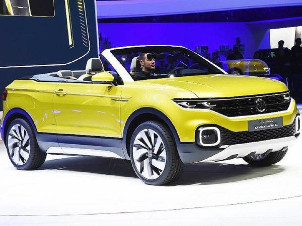 Studie mit Zukunft: der  VW T-Cross Breeze, ein Geländewagen-Cabrio auf Polo-Basis