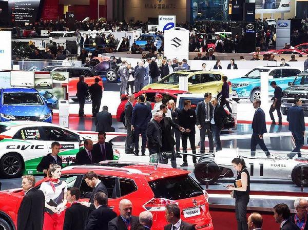 Der Genfer Automobilsalon bietet auf überschaubarer Fläche einen guten Überblick über den aktuellen Automarkt.