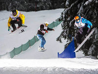 King of the Forest: Ski- und Snowboard-Wettkampf am Feldberg