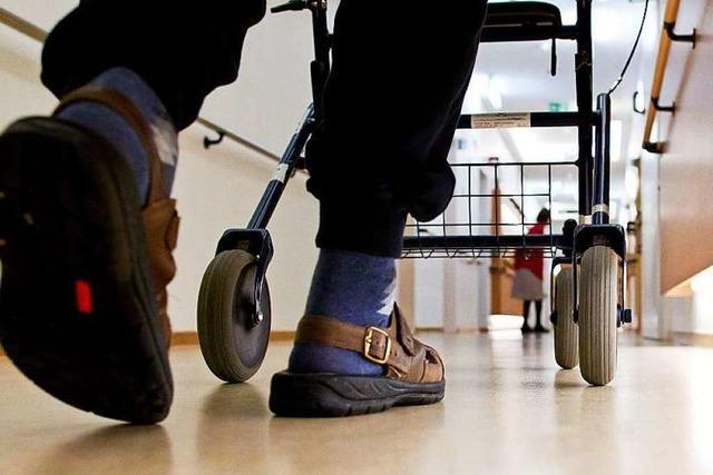 In Pflegeheimen leben immer mehr jüngere Menschen