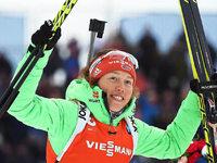 Sprint-Bronze f�r Laura Dahlmeier