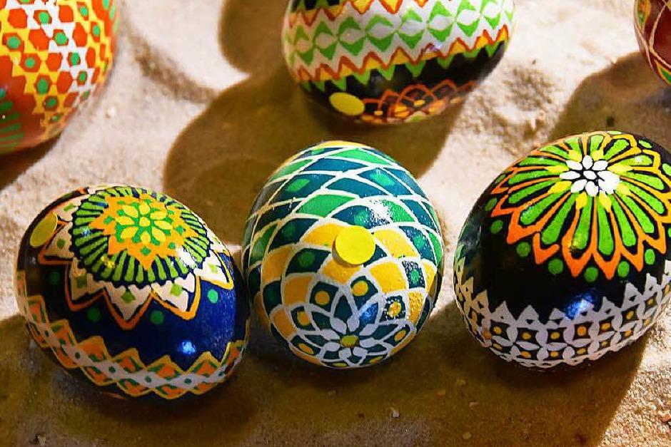 Der Frühlingsmarkt in Stegen machte deutlich, das es bis Ostern nicht mehr lange hin ist. (Foto: Markus Donner)