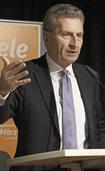 "Oettinger: ""Putins wichtigster Partner hei�t AfD"""