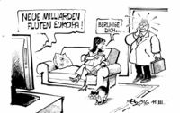 """""""... es geht um Euro von der EZB, nicht um Flüchtlinge!"""""""