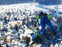 Beim Weltcup in Neustadt treten die besten Skispringer an