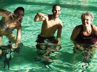 42,195 Stunden Aquacycling f�r einen guten Zweck