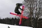 Kandelking Ade: Tollk�hne Luftakrobaten zeigten coole Spr�nge �berm Schnee
