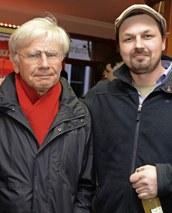 Gutes Ergebnis in Freiburg, aber nicht...chuchmann (links) und Gregory Mohlberg  | Foto: Rita Eggstein