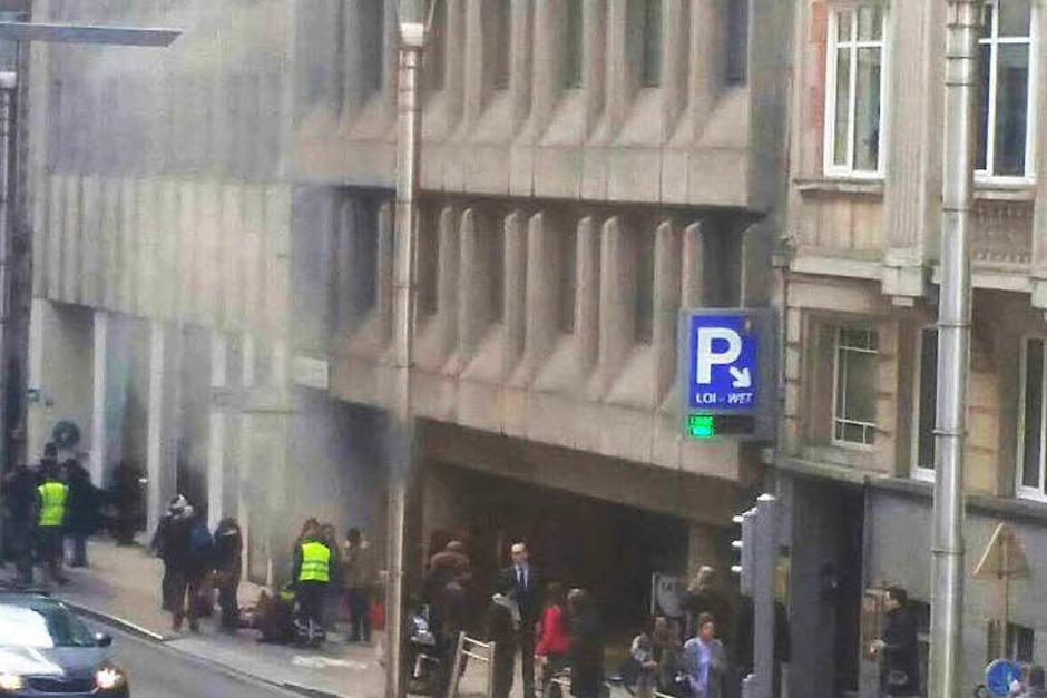 Explosionen in der U-Bahn (Foto: AFP)