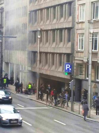 Explosionen in der U-Bahn