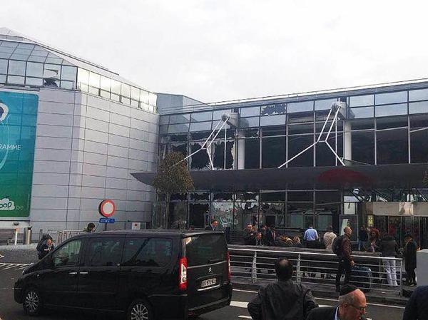 Explosionen am Flughafen