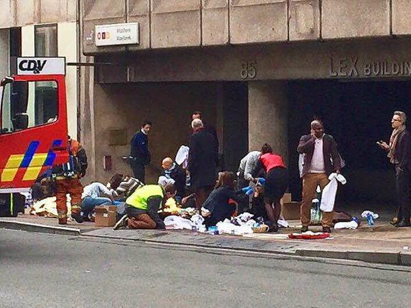 Terroristen haben in Brüssel zugeschlagen