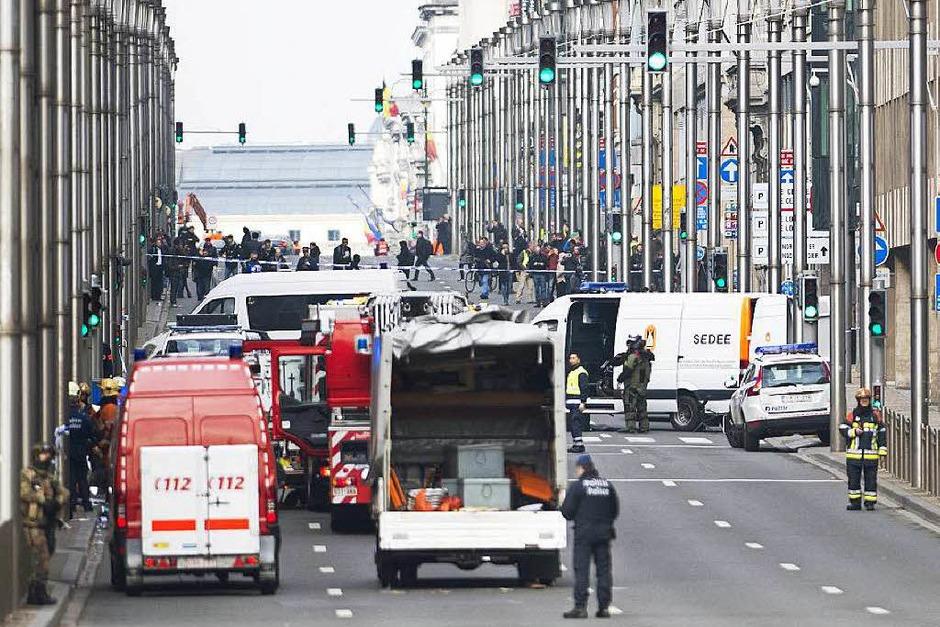 Terroristen haben in Brüssel zugeschlagen (Foto: AFP)