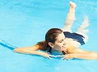 Bewegung im Wasser ist mehr als stupides Kachelz�hlen
