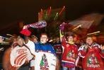 Fotos: Spieler und Fans des EHC Freiburg feiern den Klassenerhalt