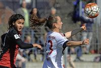 SC Freiburg unterliegt Bayern M�nchen mit 0:3 - Sara D�britz im Mittelpunkt