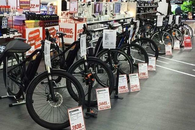 Hier können Sie E-Bikes und Pedelecs ausprobieren