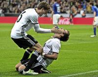 Deutschland gegen Italien im Torrausch: 4:1-Sieg in M�nchen