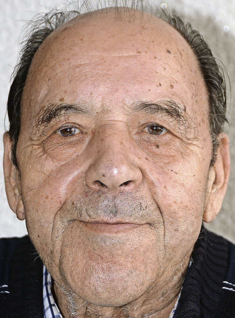 <b>Fritz Huber</b> 80 Jahre alt - 120102605