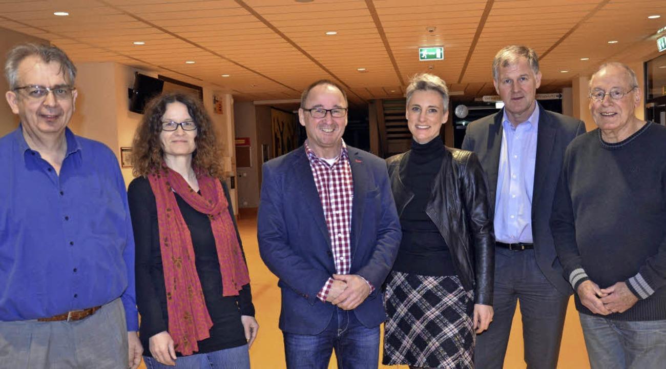 Der Vorstand des Freundeskreises: (von...  sowie Vorsitzender Manfred Grether.   | Foto: Martina Weber-Kroker