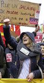 Zehntausende Franzosen wollen Hollandes Reform kippen