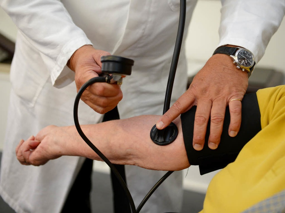 Die medizinische Versorgung der Flücht...rzte aus Breisacher Praxen übernommen.  | Foto: dpa