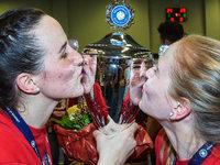 Fotos: Die Meisterfeier der Frauen des VC Offenburg