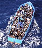 In Borg El-Megheisil beginnt die Reise vieler syrischer Fl�chtlinge nach Europa