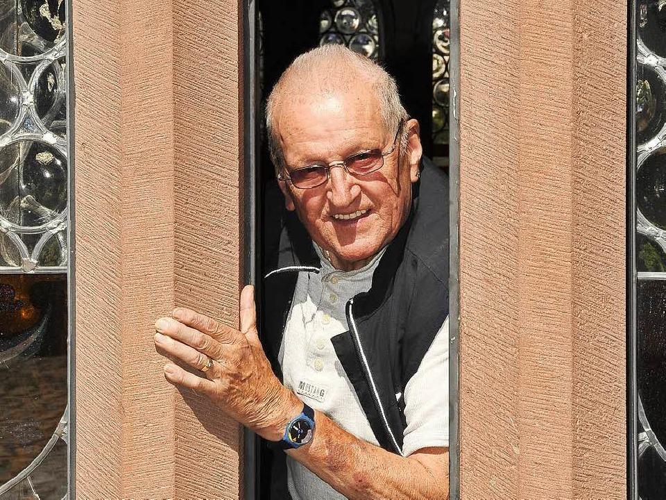 Alfred Kalchthaler ist im Alter von 85 Jahren gestorben.  | Foto: Ingo Schneider