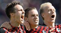 SC Freiburg besiegt den FC St. Pauli 4:3