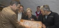 Radweg verbindet Gemeinden entlang des Oberrheins
