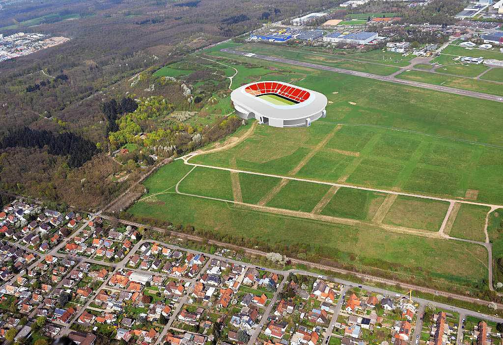 neue kostensch tzung best tigt sc stadion f r 70 millionen euro machbar freiburg badische. Black Bedroom Furniture Sets. Home Design Ideas
