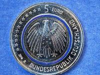Neue F�nf-Euro-M�nze: Wo bekommt man sie in Freiburg?