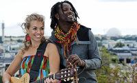 Sousou und Maher Cissoko spielen im Meck in Frick/Schweiz