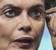 F�r Dilma Rousseff wird es eng