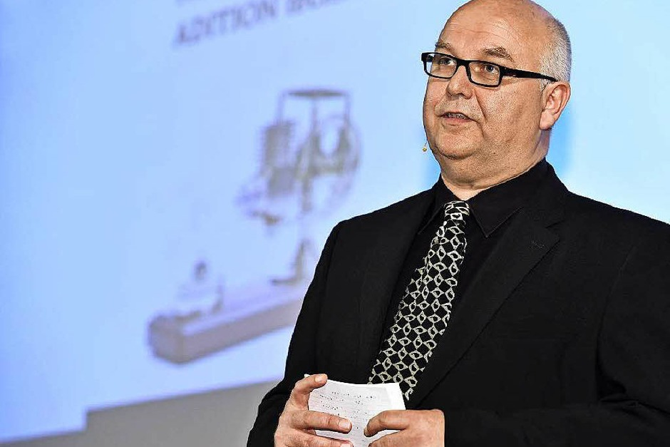 Führte gewohnt souverän durch die Jobmotor-Preisverleihung: Moderator Achim Eickhoff (Foto: Thomas Kunz)