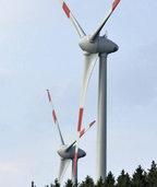 Stromkonzern EnBW will in H�usern zwei Windkraftanlagen bauen