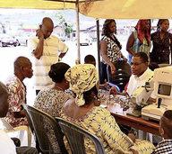 Die Brillen werden in Nigeria dringend ben�tigt