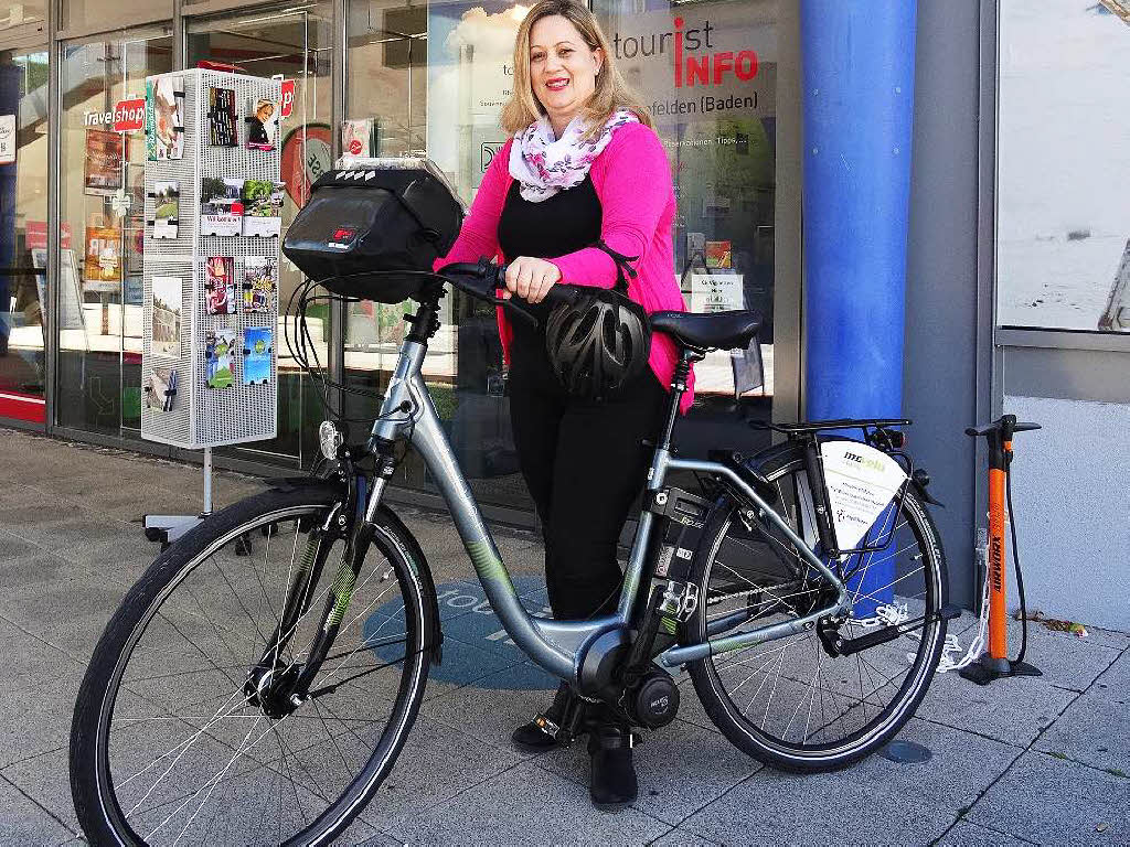 tourist info vermietet jetzt auch e bikes rheinfelden. Black Bedroom Furniture Sets. Home Design Ideas